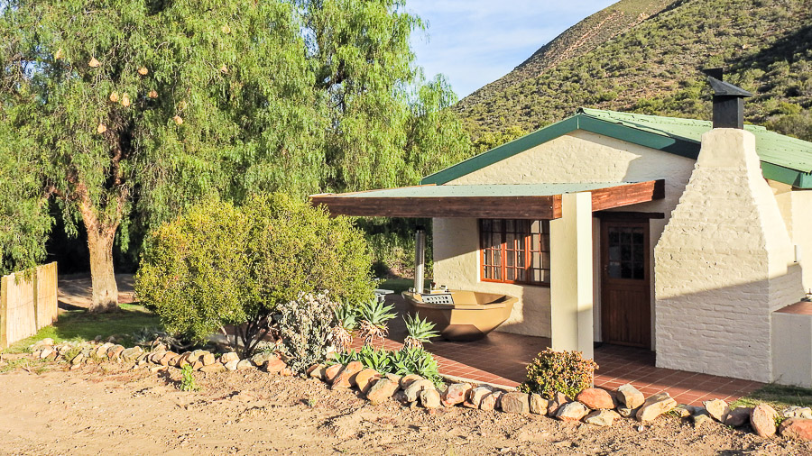 Steenbok Cottage Entrance